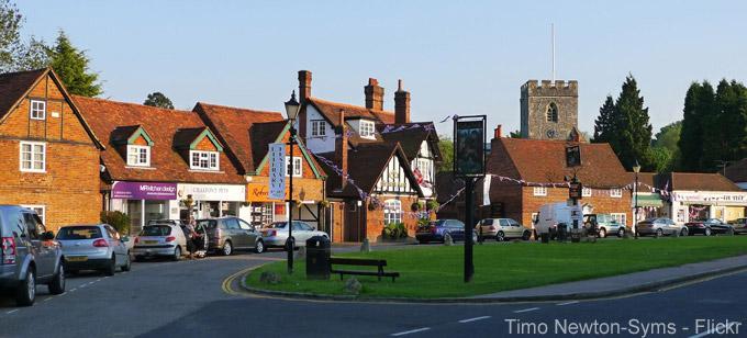 Chalfont St. Giles, England