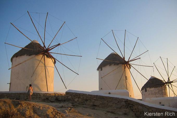 Top-Sehenswürdigkeiten auf Mykonos: Windmühlen