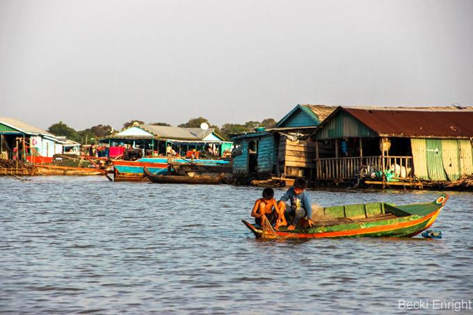 Attraktionen in Siem Reap: Das schwebende Dorf