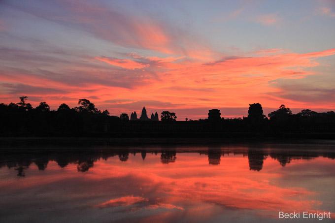 Attraktionen in Siem Reap: Sonnenuntergang