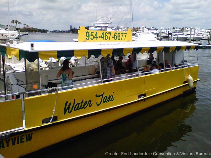 Die besten Attraktionen in Fort Lauderdale: Wasser-Taxi