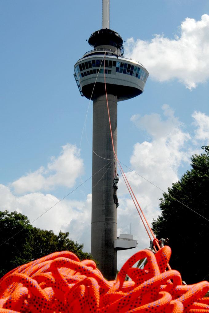 Das Wahrzeichen Rotterdams: der Euromast