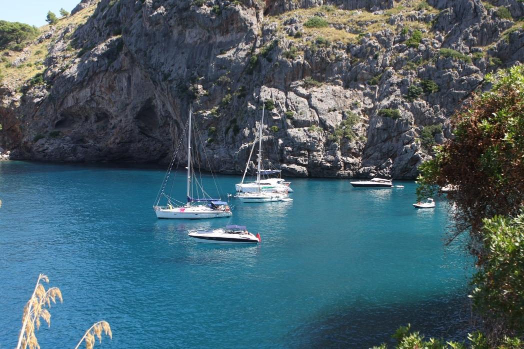 Die schönsten Strände in Spanien: Cala de Sa Calobra, Palma, Mallorca
