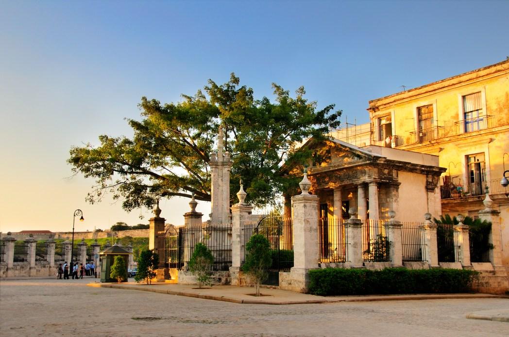 Sehenswürdigkeiten in Havanna: El Templete
