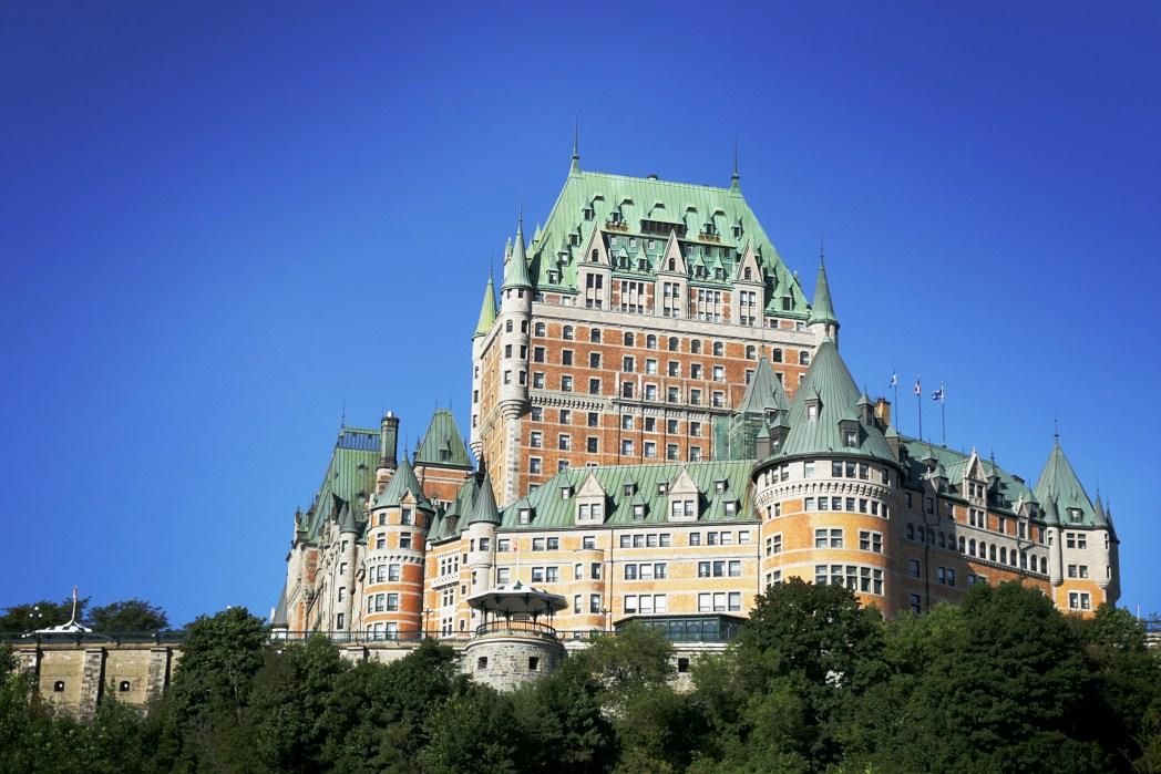 Schlösser und Prachtbauten in Kanada