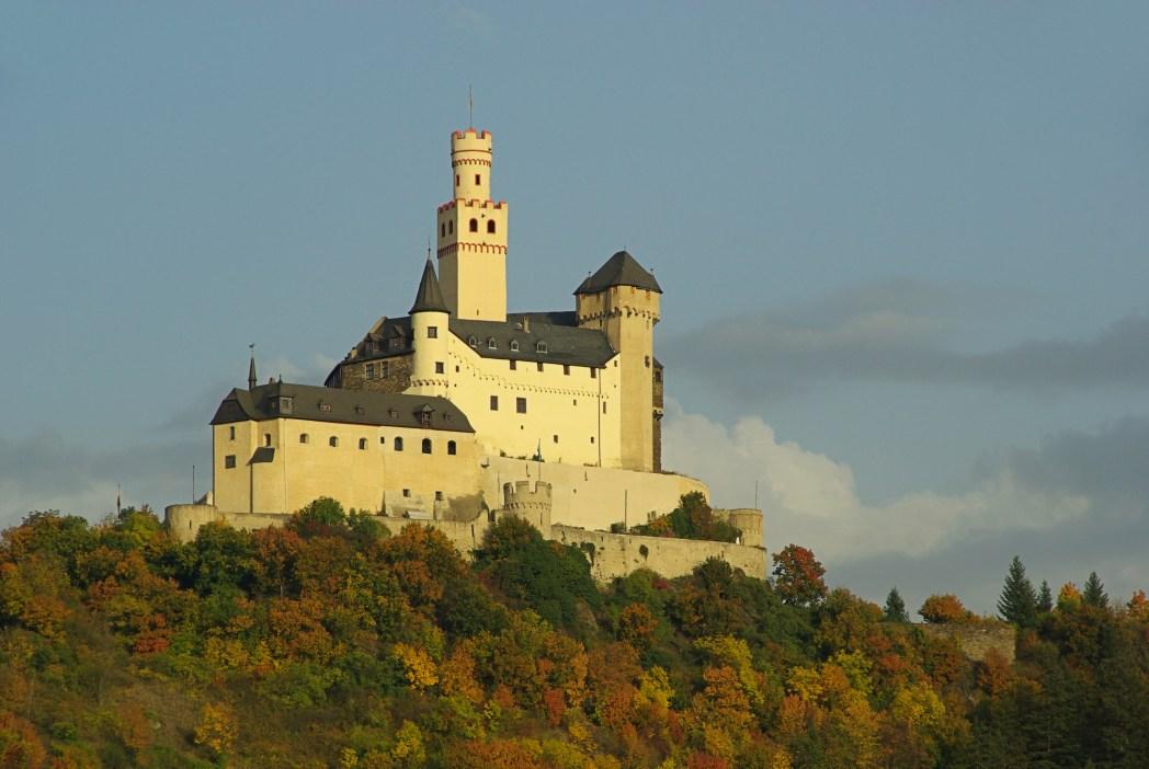 Die schönsten Burgen Deutschlands: Marksburg, Rheinland-Pfalz