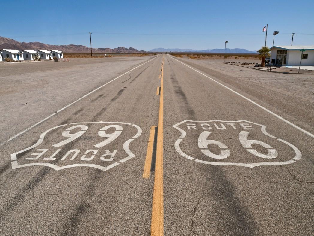 Road Trip auf der Route 66: Und zum Abschluss Mojave Desert, Kalifornien