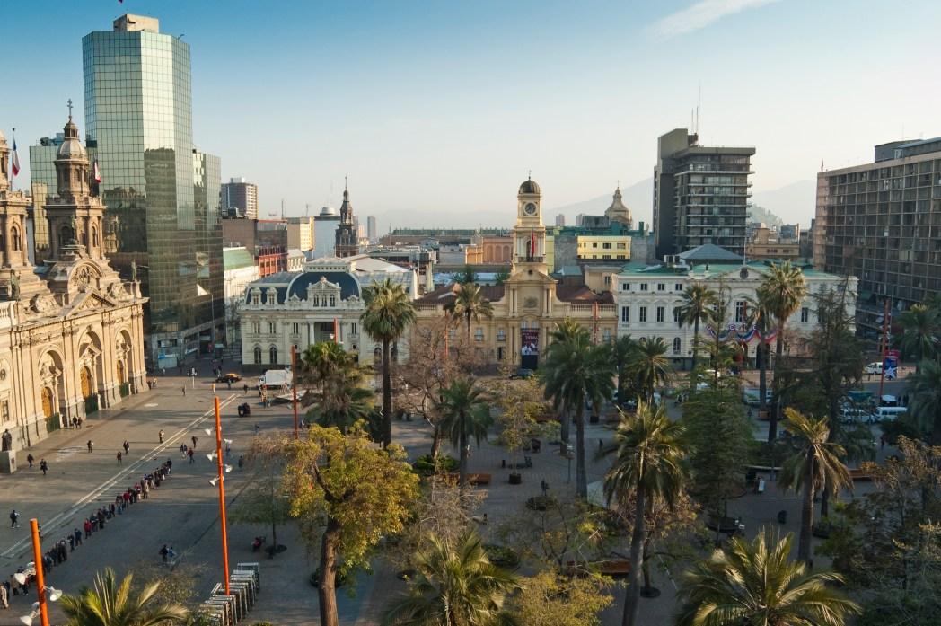 Die schönsten Sehenswürdigkeiten in Santiago de Chile: Plaza de Armas