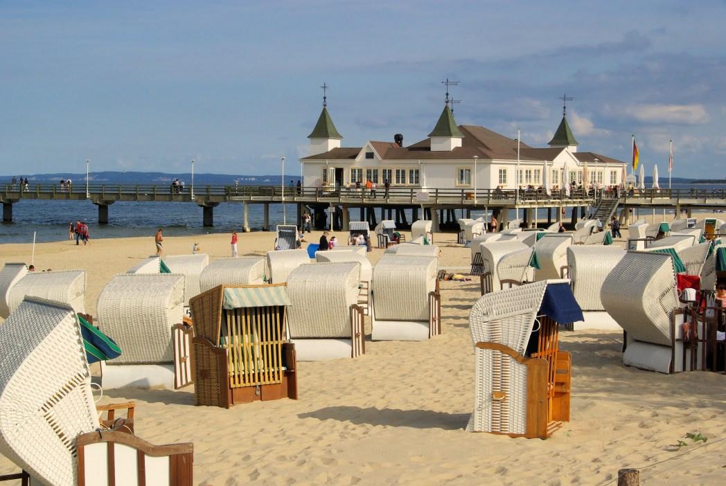 Schönsten Strände an der Ostsee: Bernsteinbäder, Usedom