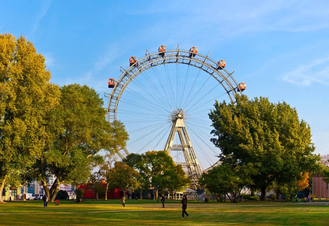 Top  Sehenswürdigkeiten in Wien: Wiener Prater und das Riesenrad