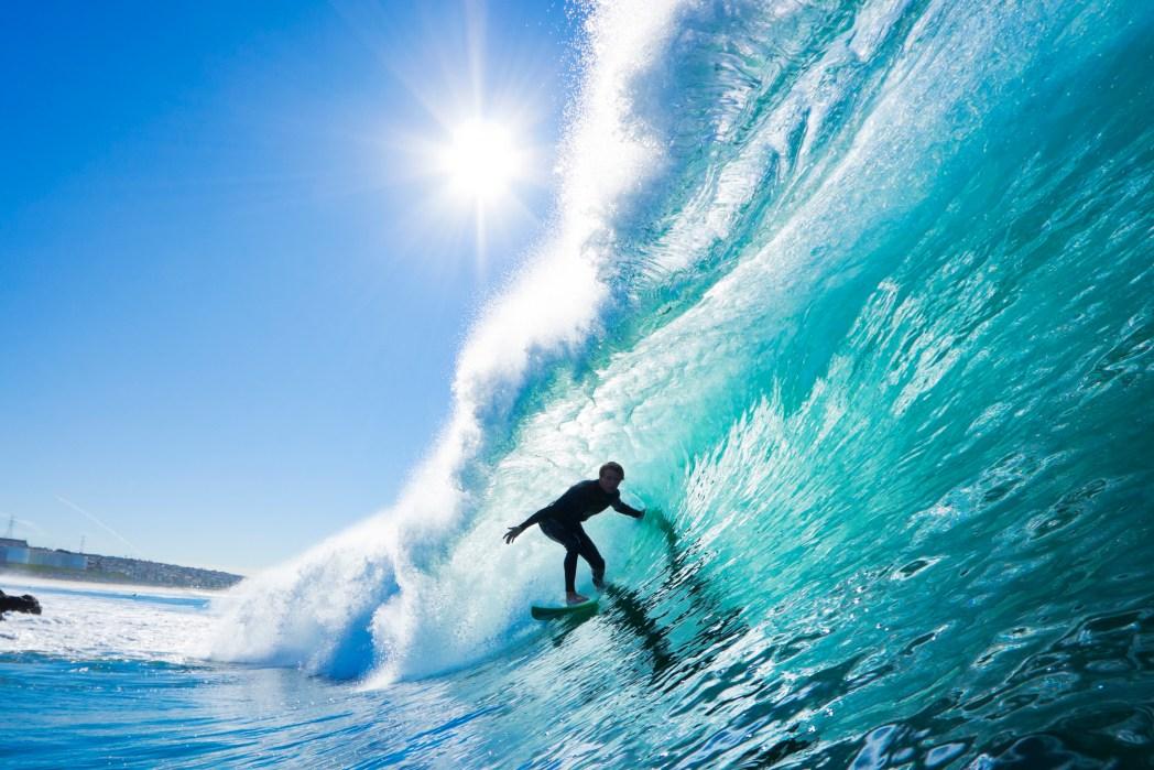 Surfen in Miami