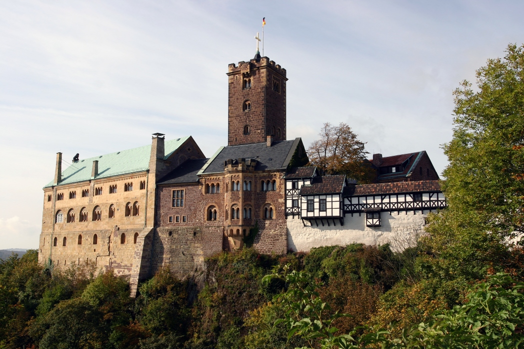 Die schönsten Schlösser und Burgen in Deutschland: Wartburg, Thüringen