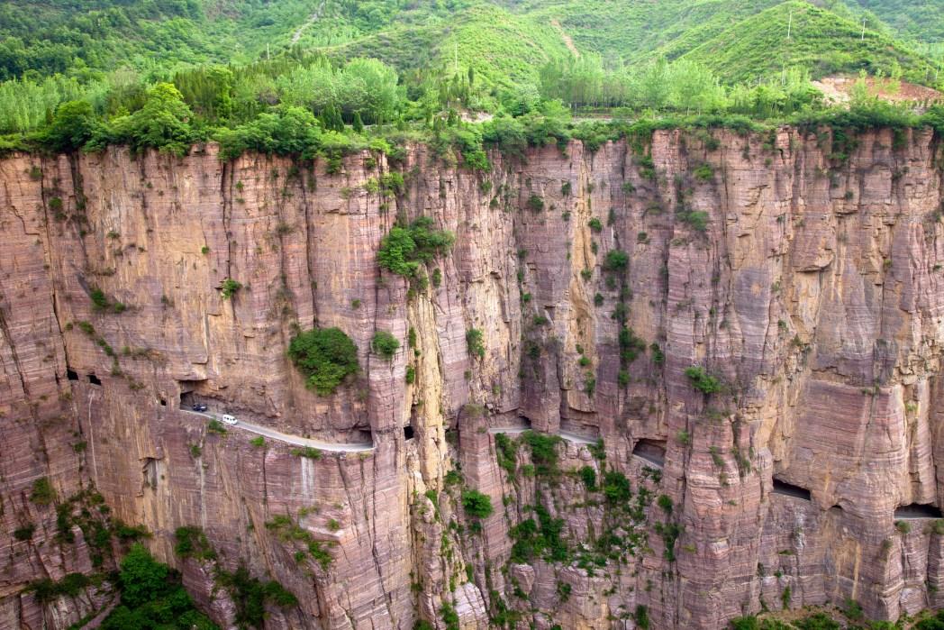 Die berühmtesten Straßen der Welt: Guoliang Tunnelstraße, China