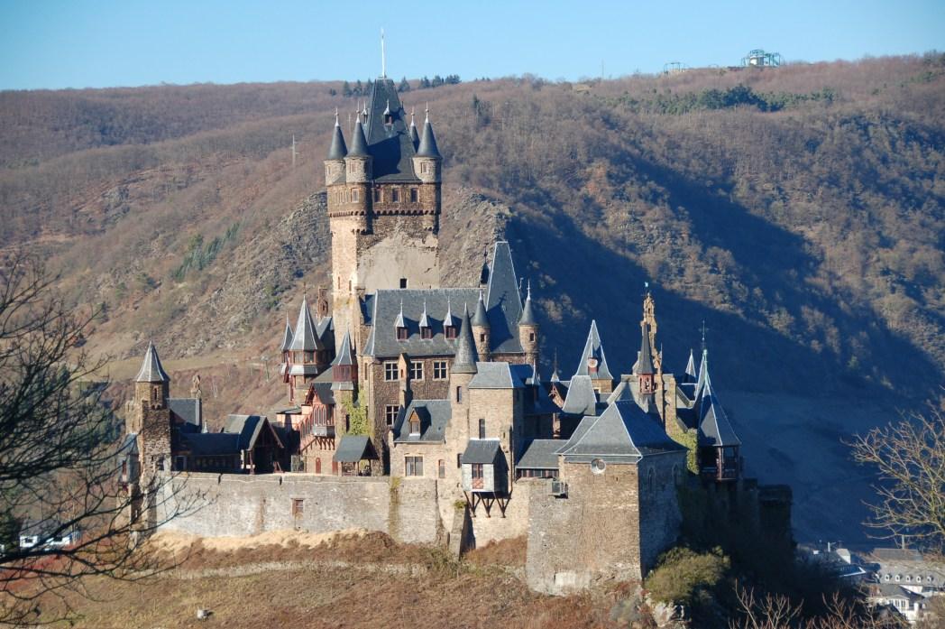 Die schönsten Burgen Deutschlands: Reichsburg Cochem, Rheinland-Pfalz