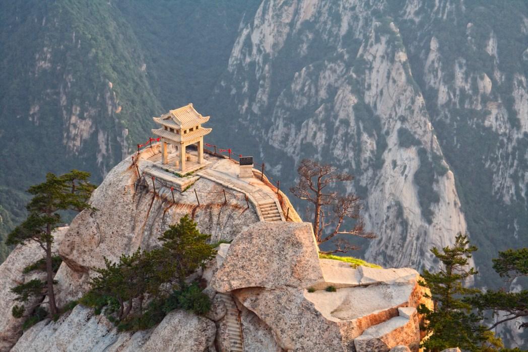 Schöne Attraktionen in China: Hua Shan