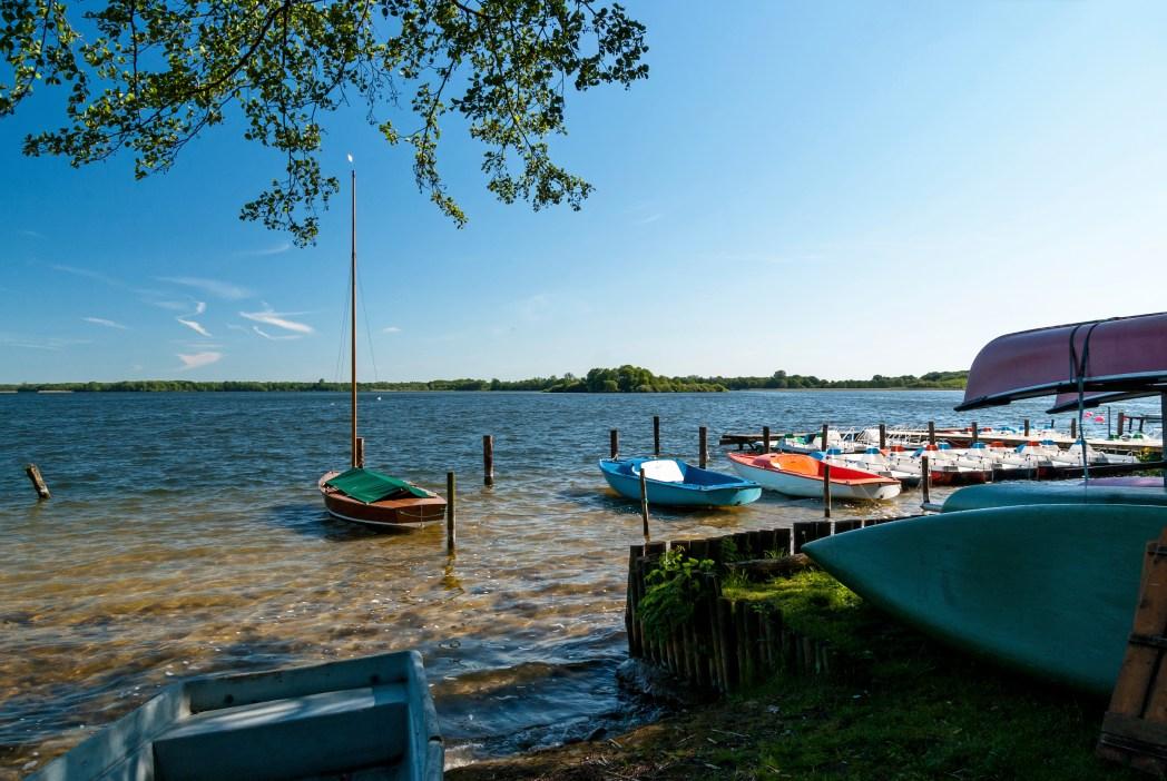 Schaalsee, Schleswig-Holstein, Mecklenburg-Vorpommern, Deutschland