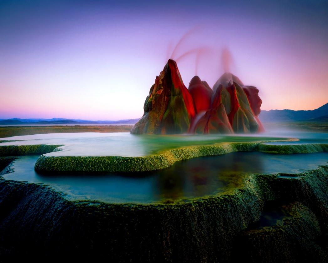 Die 20 spektakulärsten Wunder der Natur: Fly Geyser, Nevada