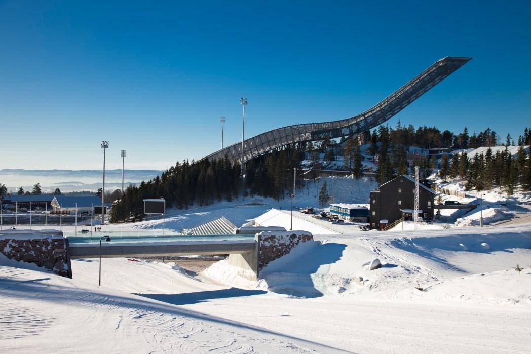 Skisprungschanze am Holmenkollen