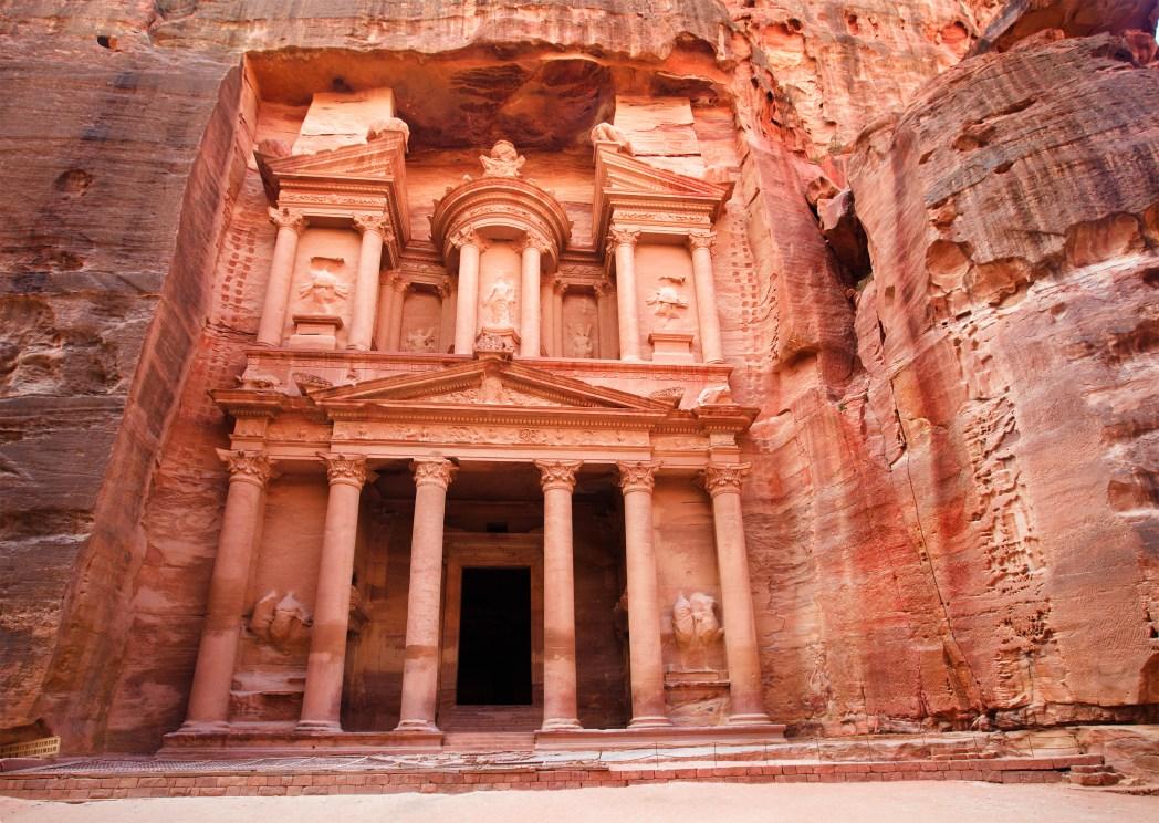 Petra, Jordanien - Heiliger Gral, Indiana Jones