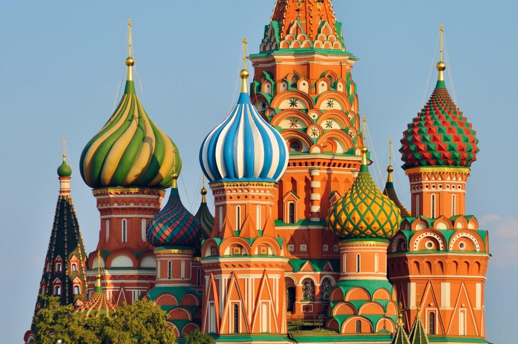 Perfekte Ziele für die Osterferien: Moskau, Russland