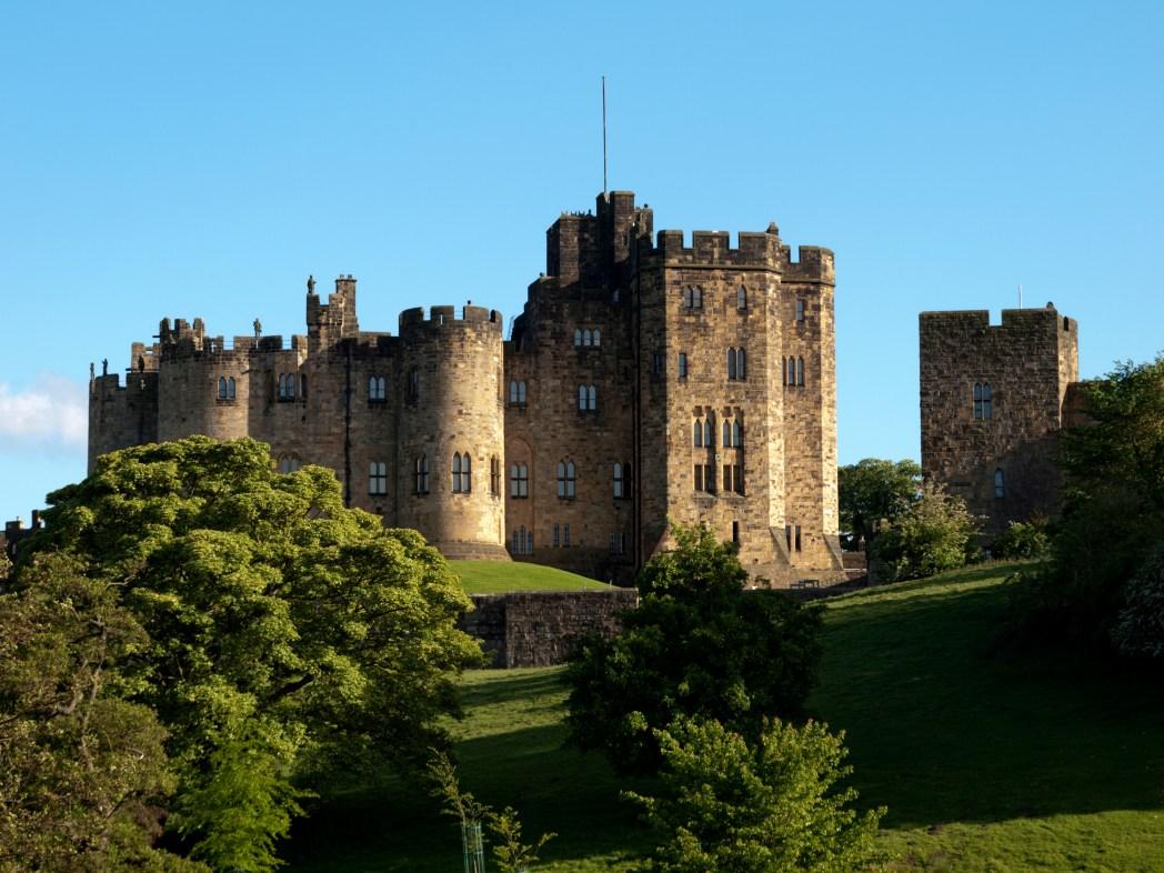 Harry Potter Drehorte: Alnwick Castle, England
