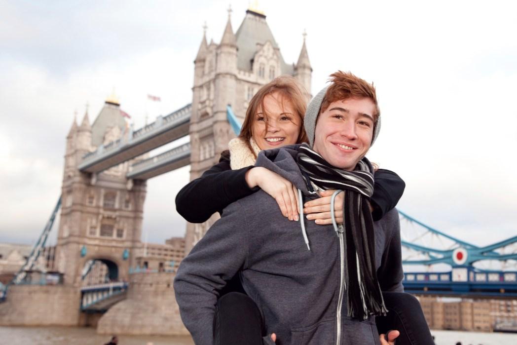 Weihnachten London Tower Bridge