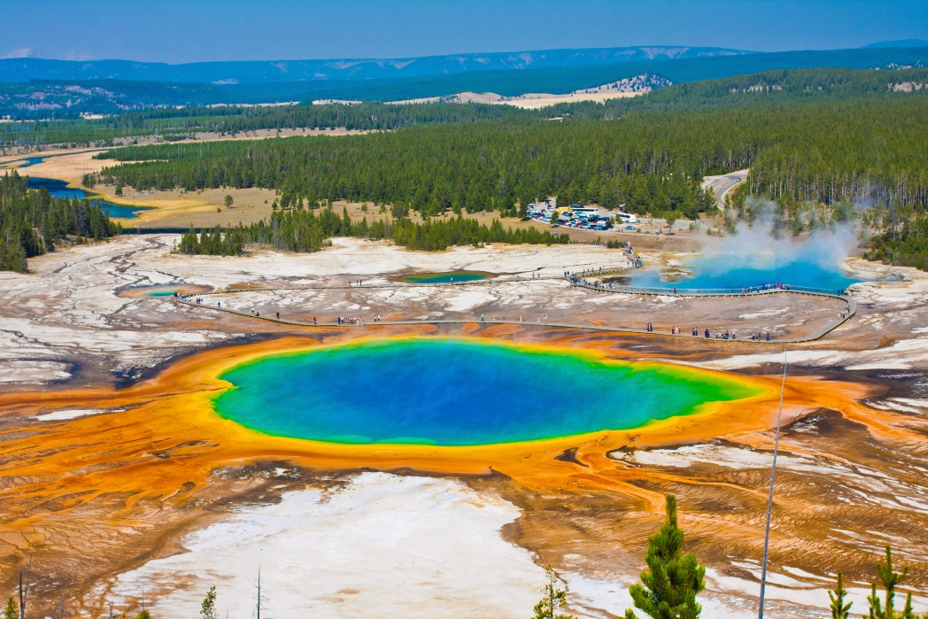 Giant Prismatic Spring – Yellowstone National Park, Wyoming