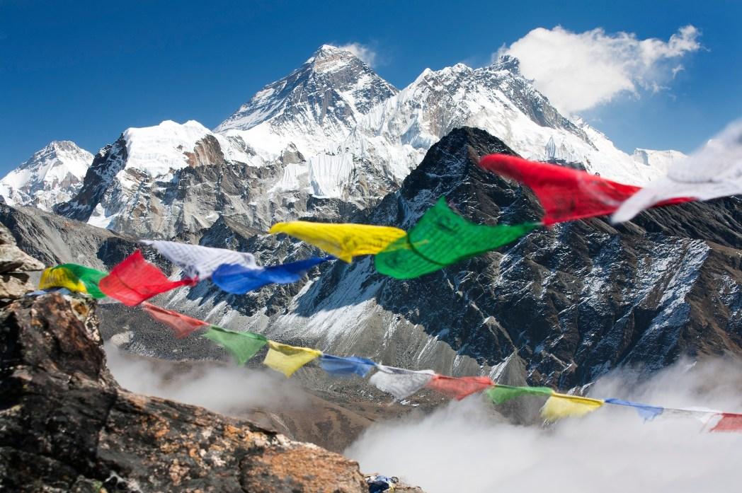 Die besten Souvenirs aus Asien: Gebetsfahnen aus Tibet und Nepal