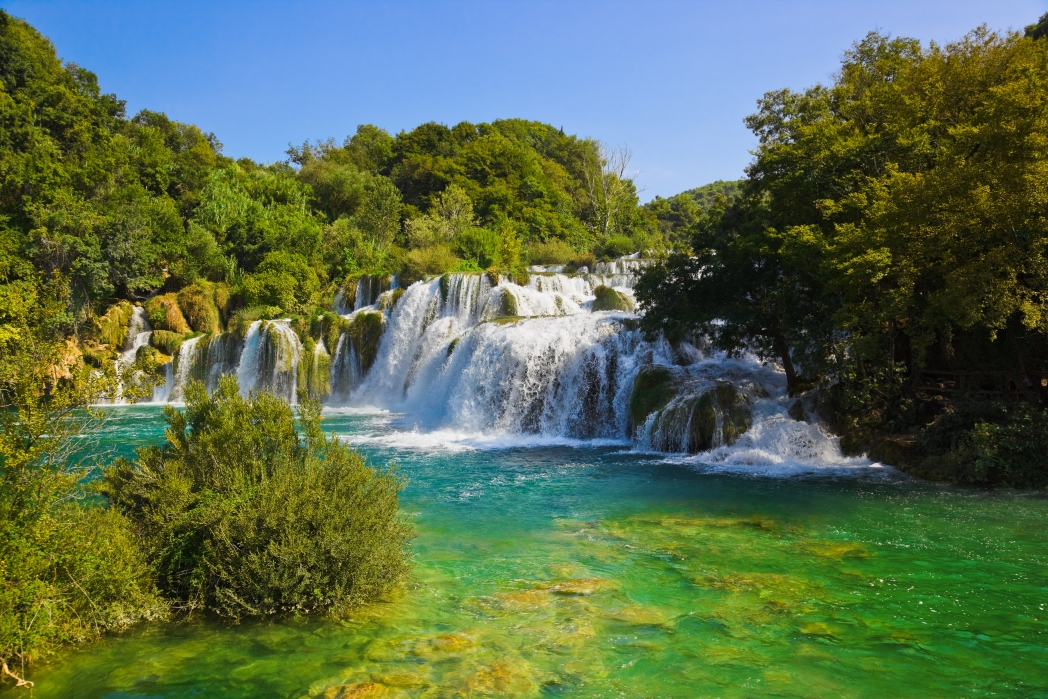 Winnetou Kulisse, Naturwunder, Plitvicer Seen, Kroatien