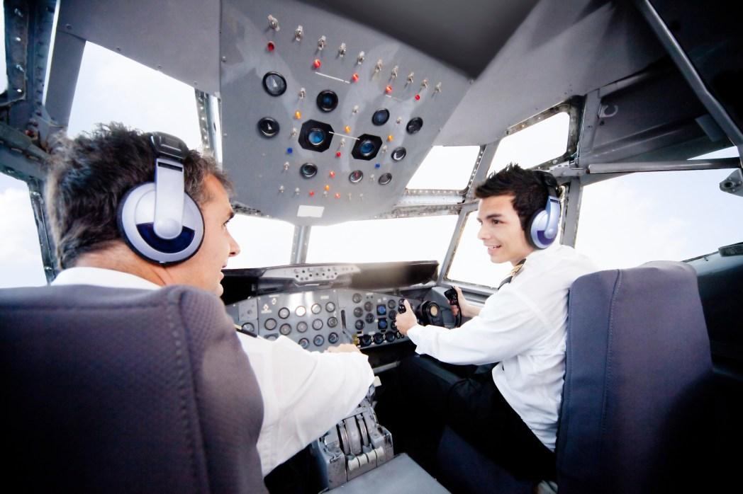 Pilot Versprecher