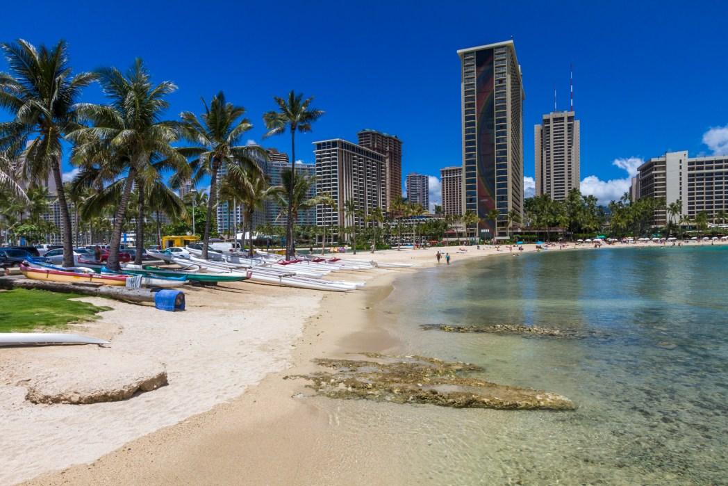 Die schönsten Strände auf Hawaii: Waikiki Beach