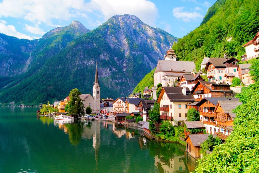 Die schönsten Seen in Österreich: Hallstätter See (Oberösterreich)