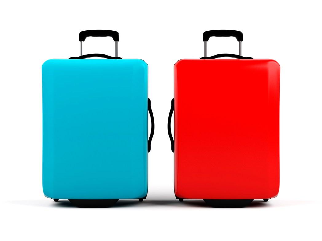 Gepäck-Gewicht reduzieren: Schweres Koffermodell