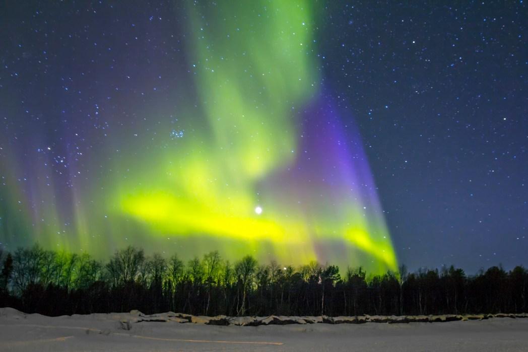 Aurora Borealis, Nordlichter, Alaska