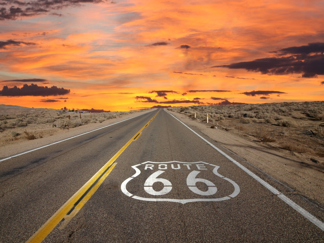 Die berühmtesten Straßen der Welt: Route 66, Illinois, Missouri, New Mexico, Arizona, USA