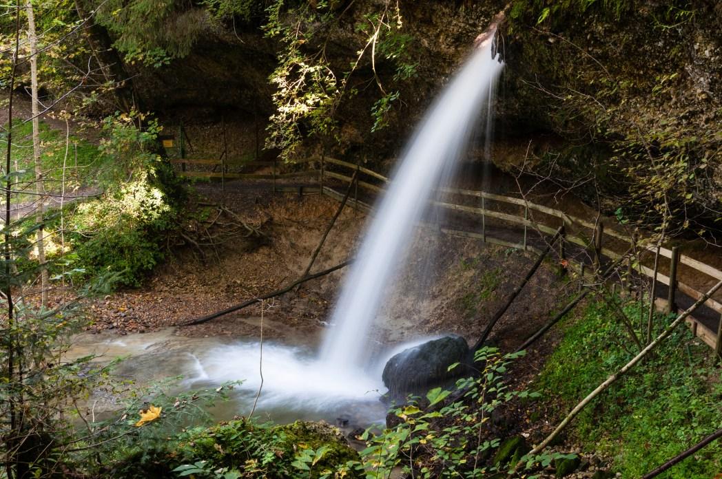 Schöne Ecken in Deutschland: Scheidegger Wasserfälle (und mehr), Lindau, Bayern