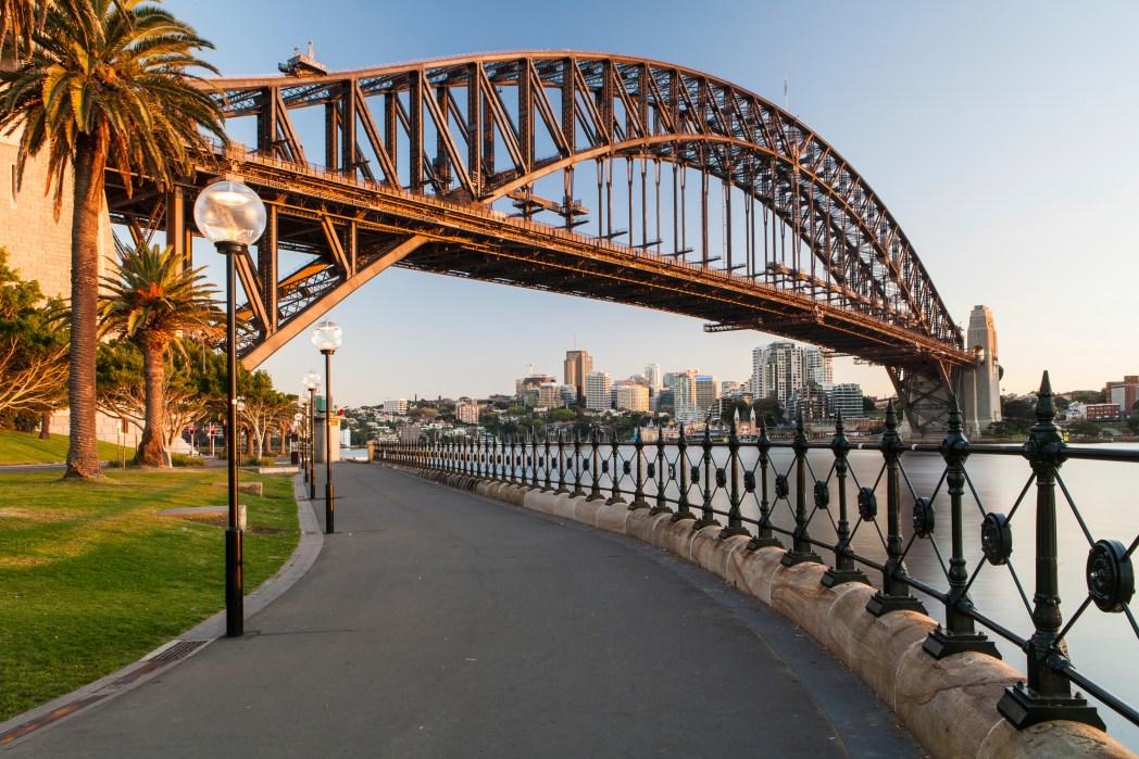 Sehenswürdigkeiten in Sydney: Sidney Harbour Bridge