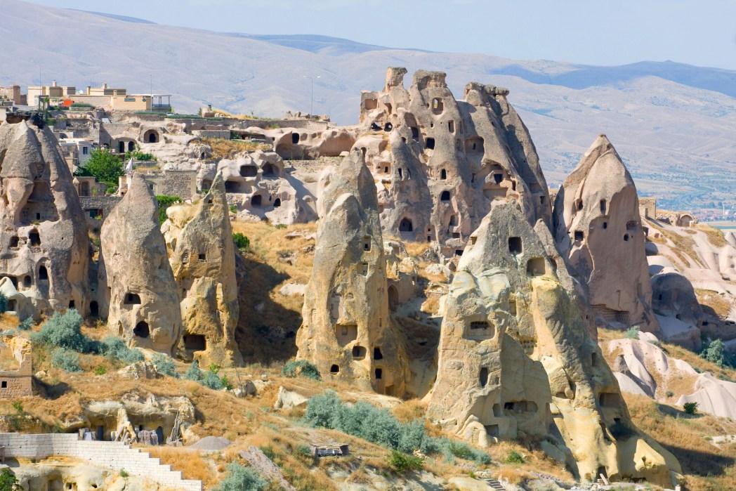 Schöne Häuser und Ferienwohnungen in Kappadokien, Türkei