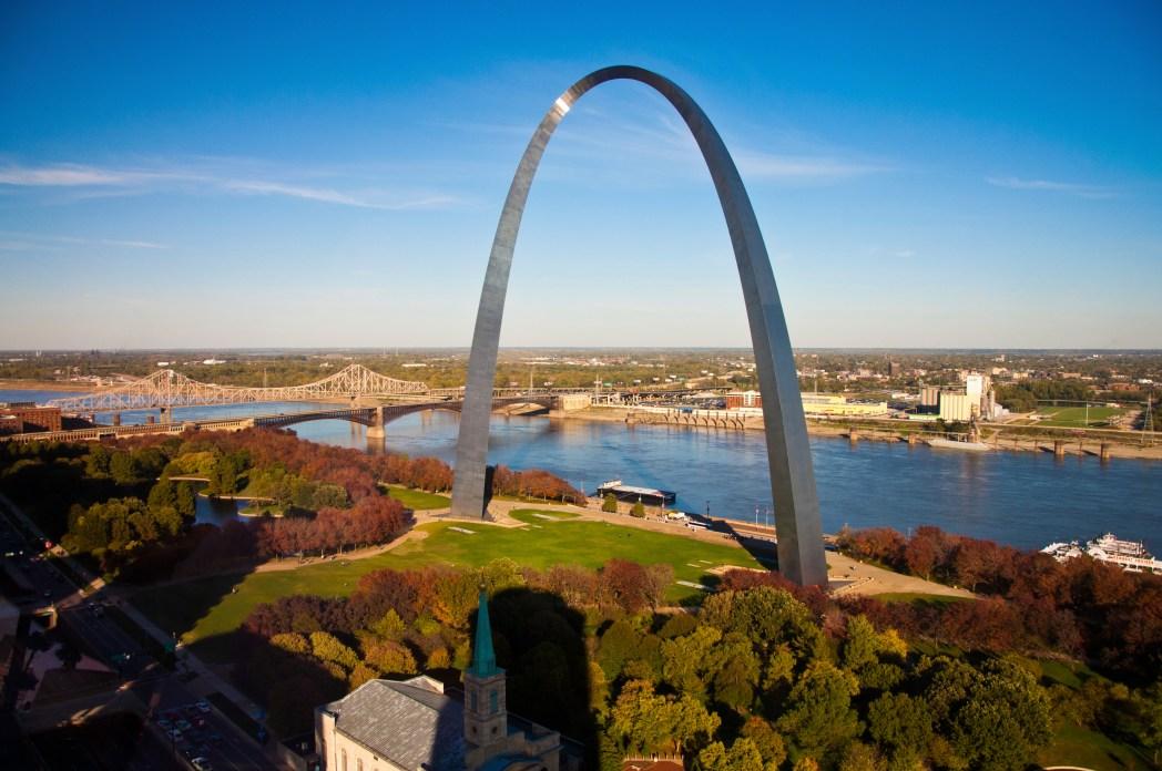 Road Trip auf der Route 66: Start in St. Louis, Missouri
