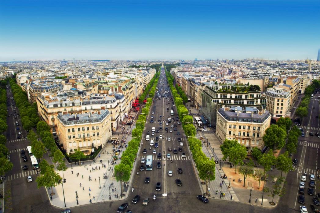 Attraktionen in Paris: Champs-Élysées