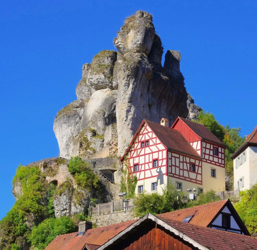 Die schönsten Orte in Deutschland: Tüchersfeld, Fränkische Schweiz, Bayern