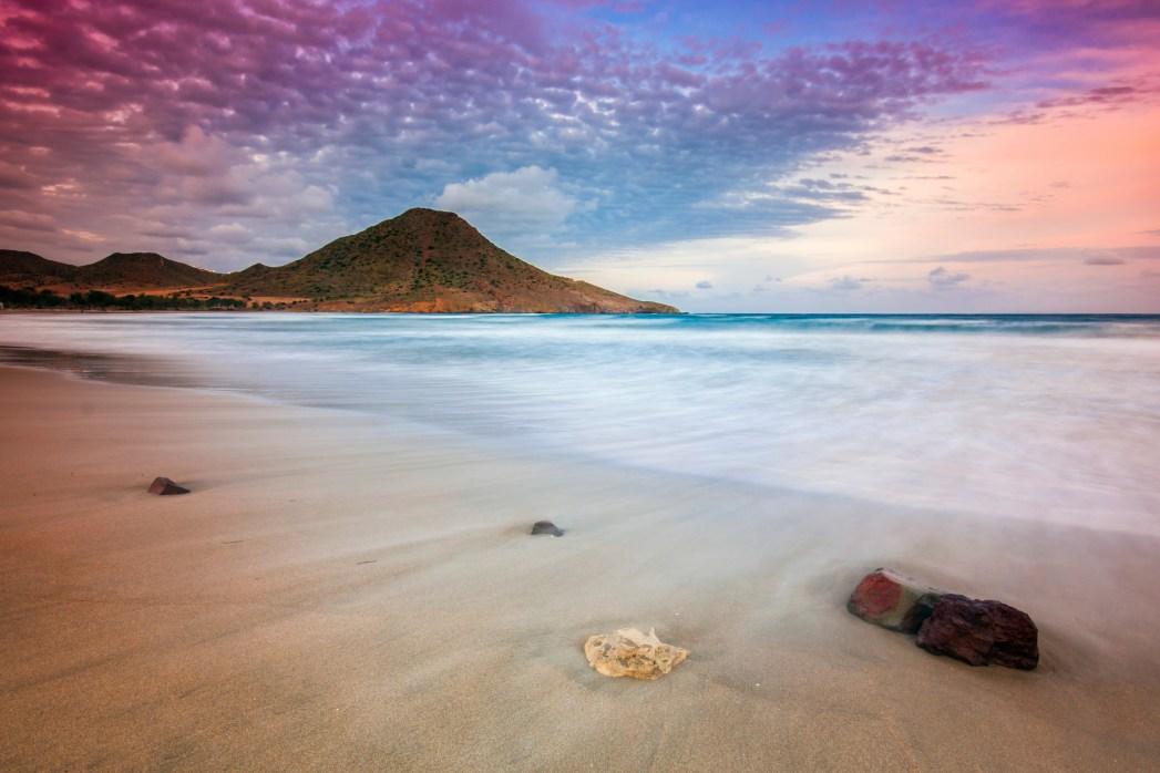 Die schönsten Strände in Spanien: Playa de los Genoveses, Almeria, Andalusien