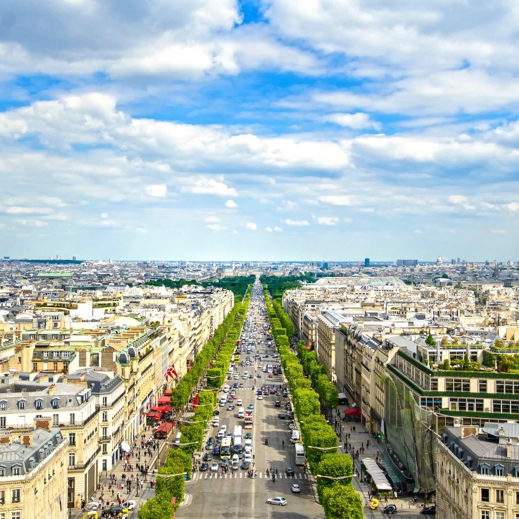 Die berühmtesten Straßen der Welt: Champs Élysées, Paris, Frankreich