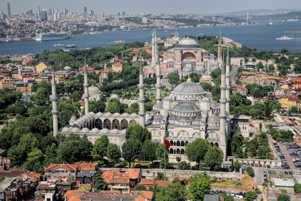 Top-Aktivitäten in Istanbul: Sultan-Ahmed-Moschee & Ayasofya