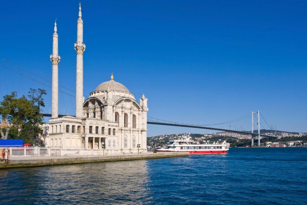 Sehenswürdigkeiten in Istanbul: Schick Essen gehen in Ortaköy