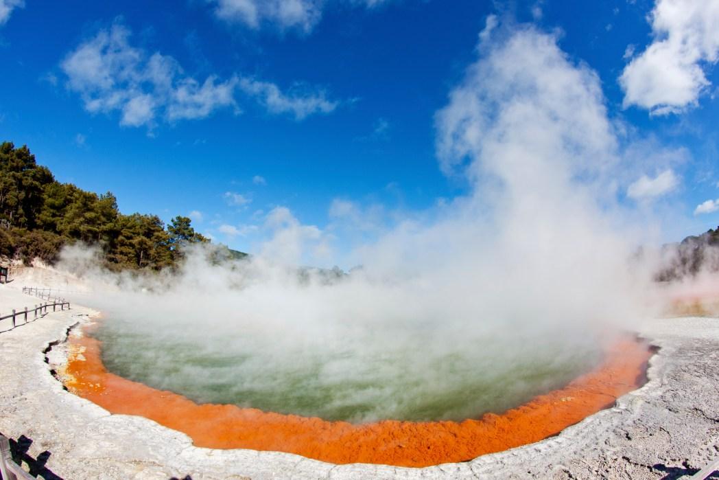 Die besten Road Trips durch Neuseeland: Von Napier nach Rotorua