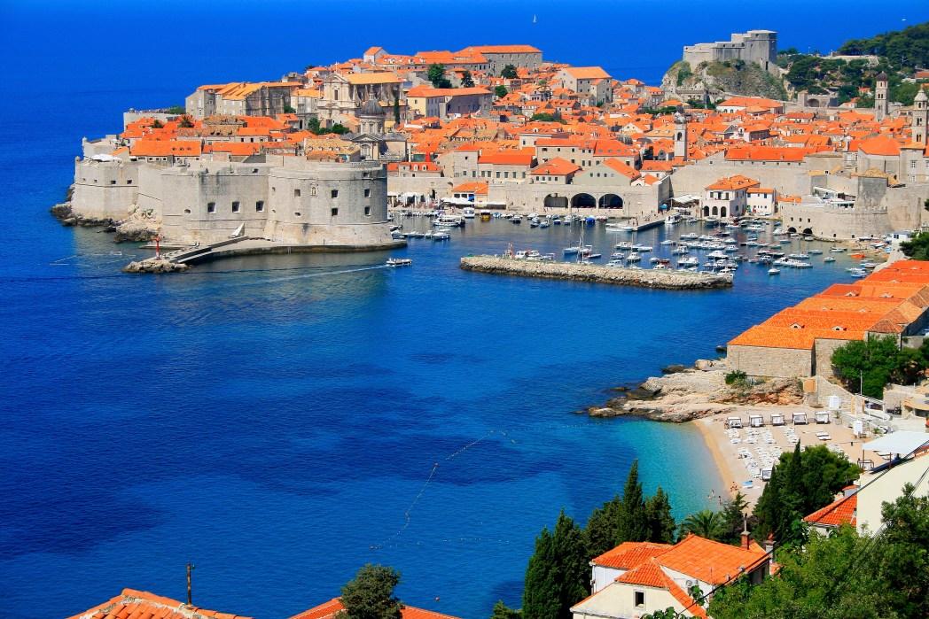 Dubrovnik Stadtmauer Game of Thrones, Kroatien