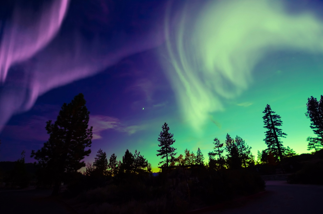 Oslo, Nordlichter, Aurora Borealis