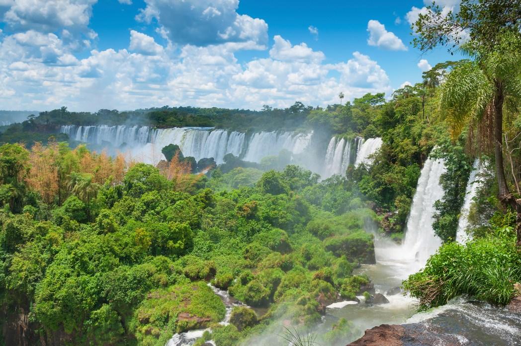 Die 20 spektakulärsten Wunder der Natur: Iguazú Wasserfälle in Brasilien und Argentinien