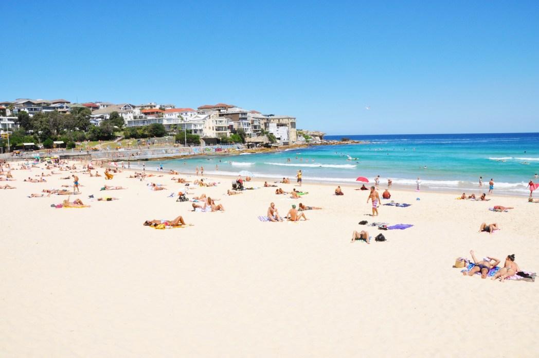 Sehenswürdigkeiten in Sydney: Bondi Beach
